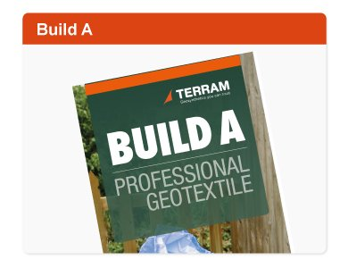 TERRAM Build A - geotextile fabric