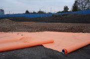TERRAM Hi-Vis (Orange Geotextile)