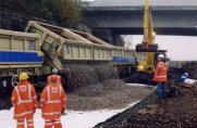 Extending track-bed life using geosynthetics