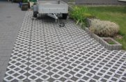 TRUCKPAVE porous paving